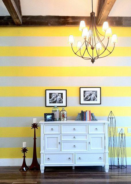 Jillian Harris is so creative -- LOVE those yellow stripes! | For ...