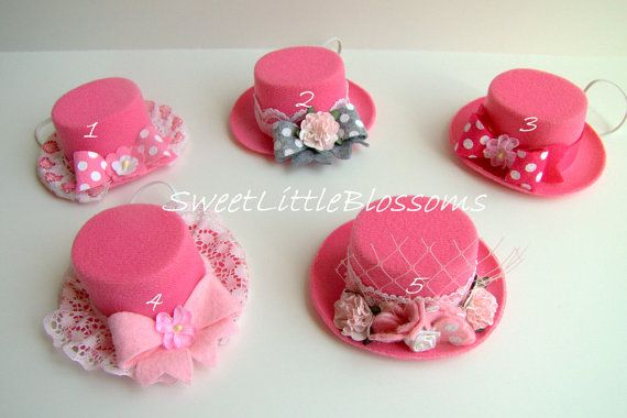 Vintage Style Mini American Girl Top Hat  by Sweetlittleblossoms, $7.00