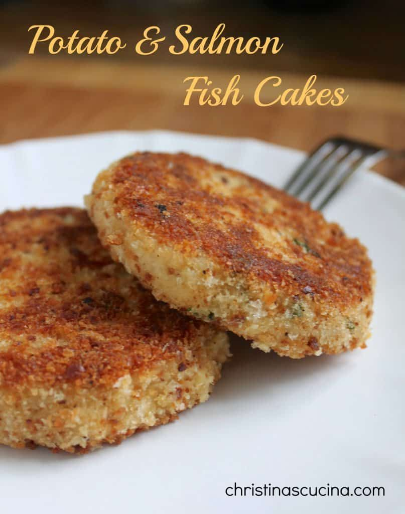 Easy, Step by Step Potato and Salmon Fish Cakes - Christina's Cucina