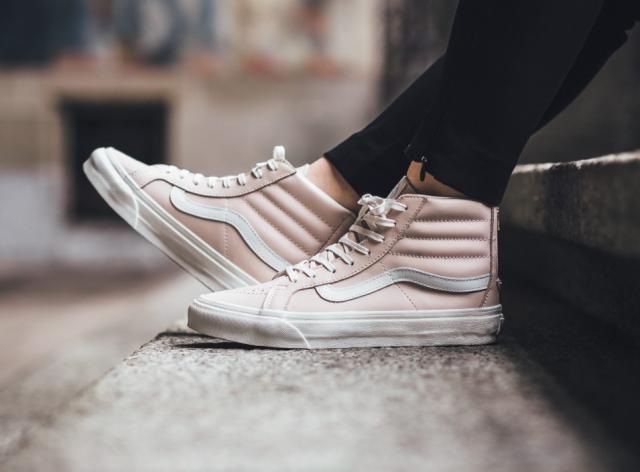 00644e32636b Sneakers femme - Vans Sk8 hi light pink (©titolo)