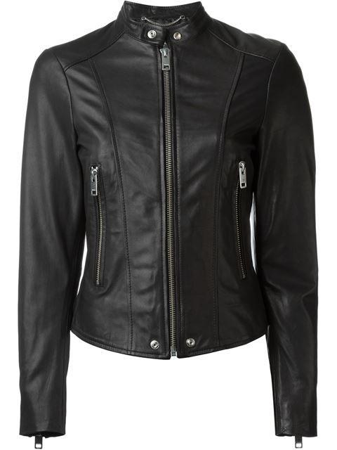 Banded Collar Jacket | Diesel | Pinterest