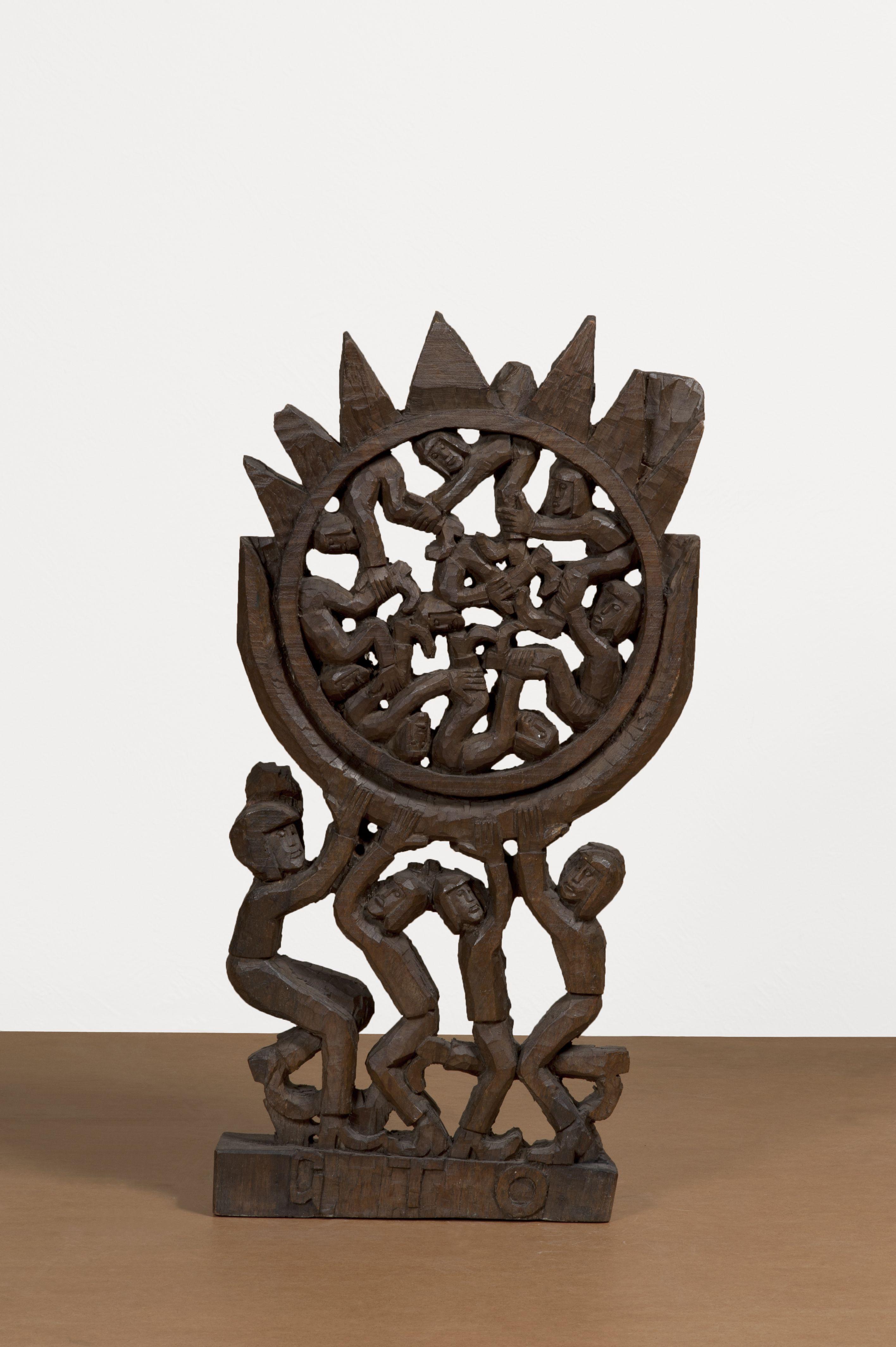G.T.O - Geraldo Teles de Oliveira Sem título, 1992 Escultura em Madeira 86 x 44 x 10 cm