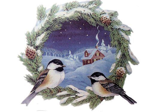 477 Chicadee Wreath
