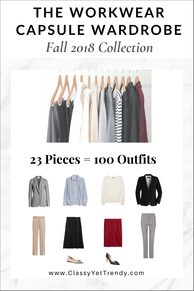 The Workwear Capsule Wardrobe  Fall 2018 Collection  90667e5c1