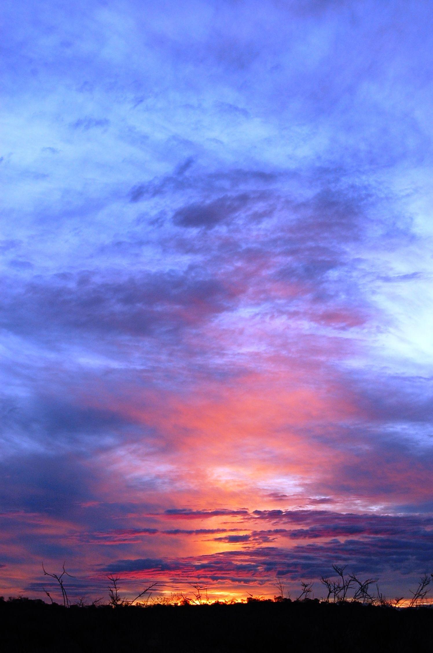 NT, Sunset Uluru