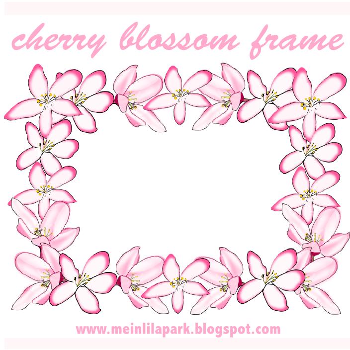 free digital flower frame png in vintage design – Blumenrahmen ...