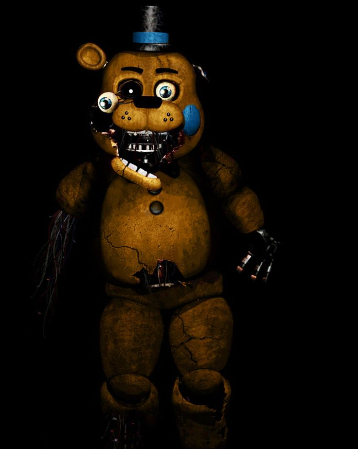 Withered Toy Golden Freddy Five Nights At Freddys By Christian2099