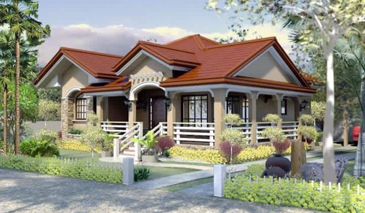 House With Balcony Philippines House Design Village House Design Modern Bungalow House