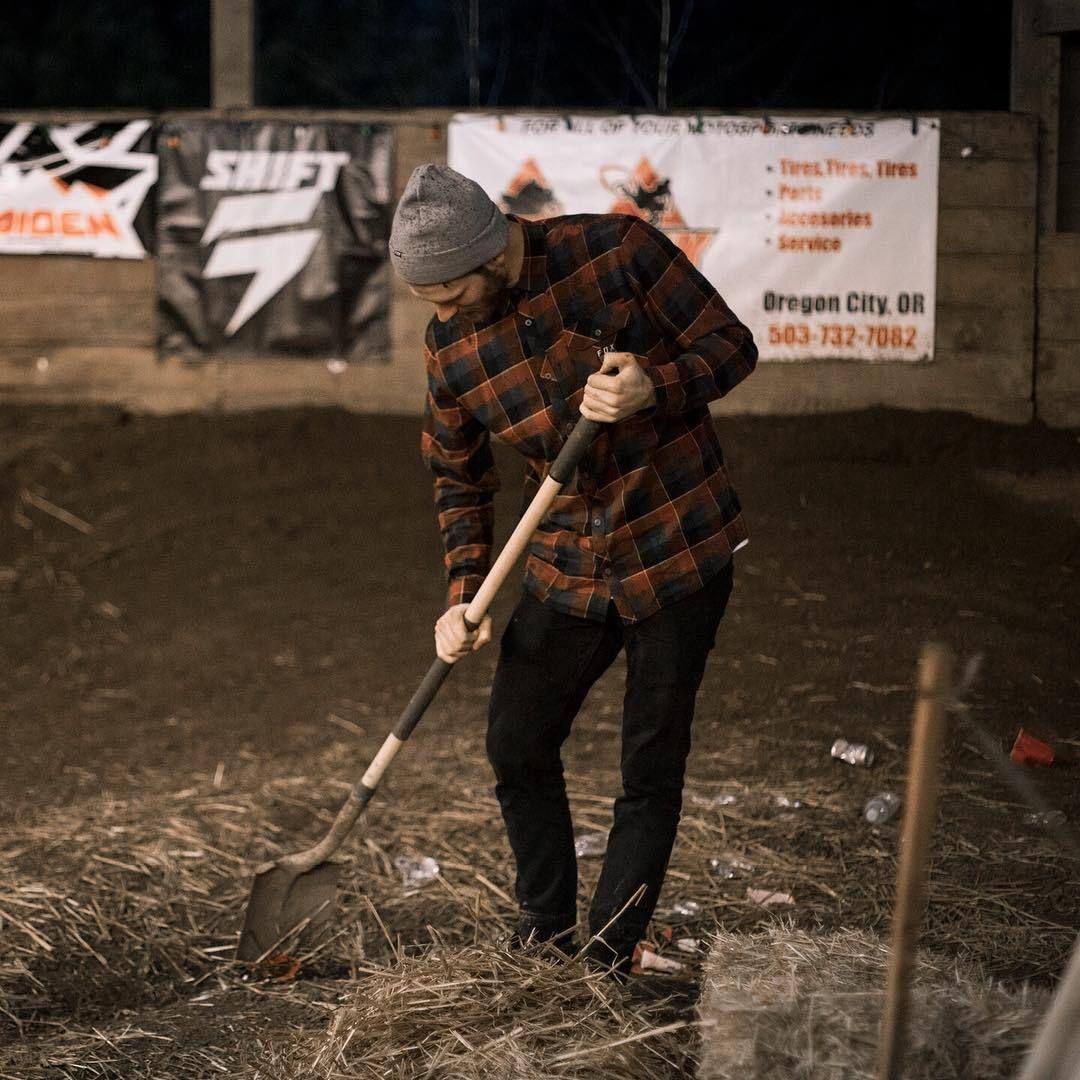 Fox Mens Rowan Stretch Flannel