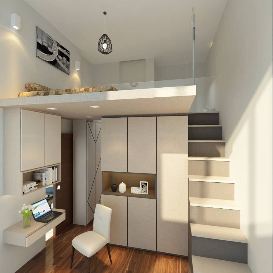 Loft bed singapore interior design google search new for Small loft design
