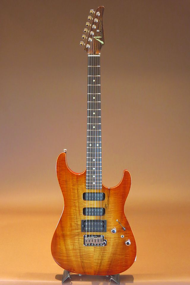 TOM ANDERSON[トムアンダーソン] Hollow Drop Top/Honey Shaded Edge w/Binding 2008|詳細写真