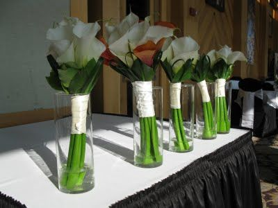 Wedding Arrangements With Calla Lilies Several Ideas For You Do