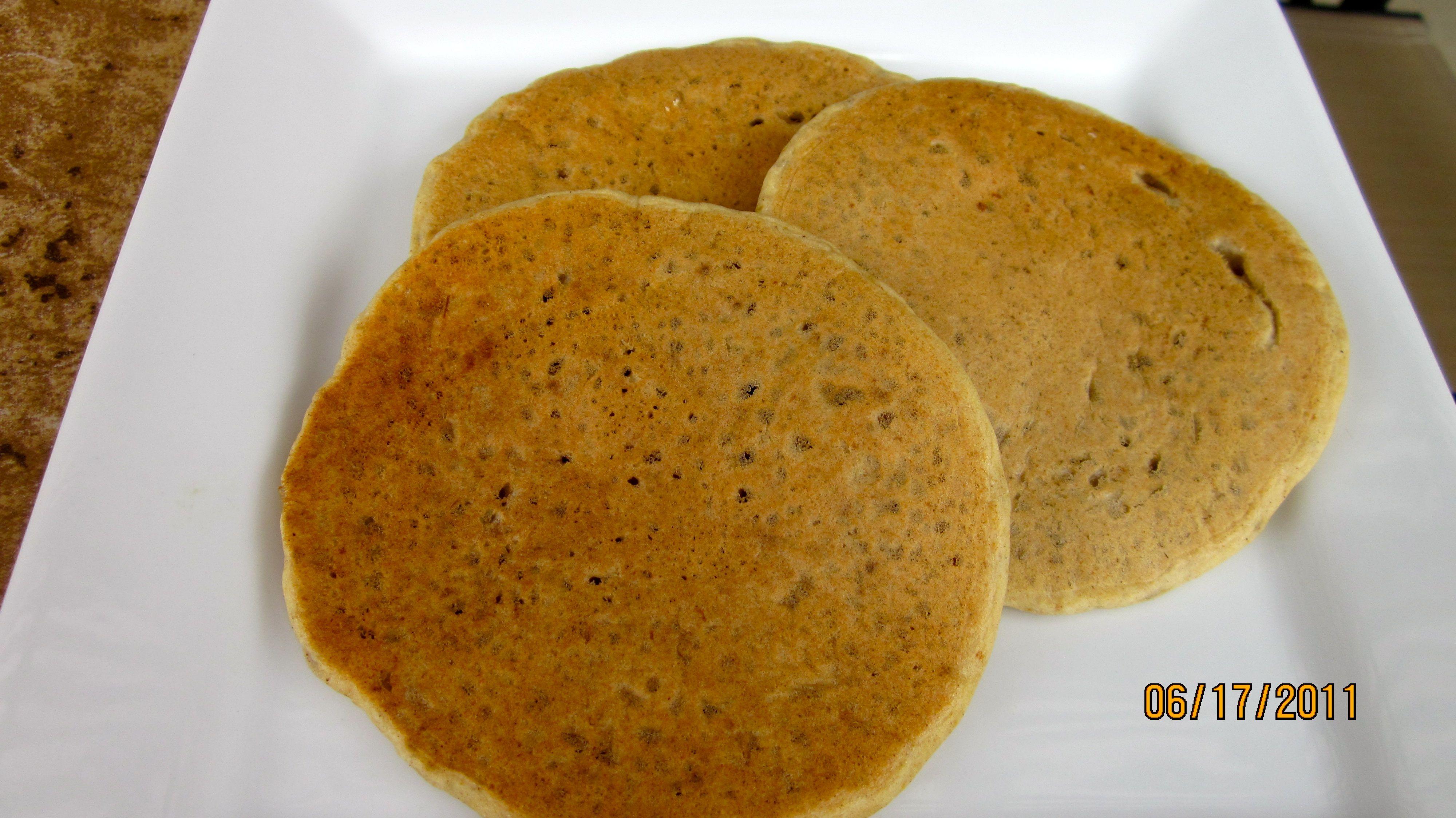 Chia Pumpkin pancakes!