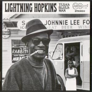 Texas Bluesman Lightning Hopkins Lightnin Hopkins Blue Man Blues Music