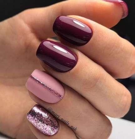 super nails shellac simple shades ideas  pink nails