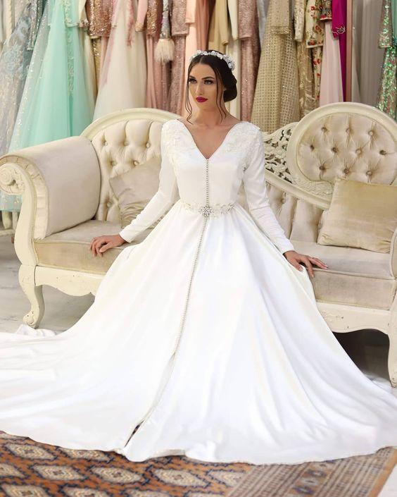 Caftan Marocain de Mariage Pas Cher - Ou