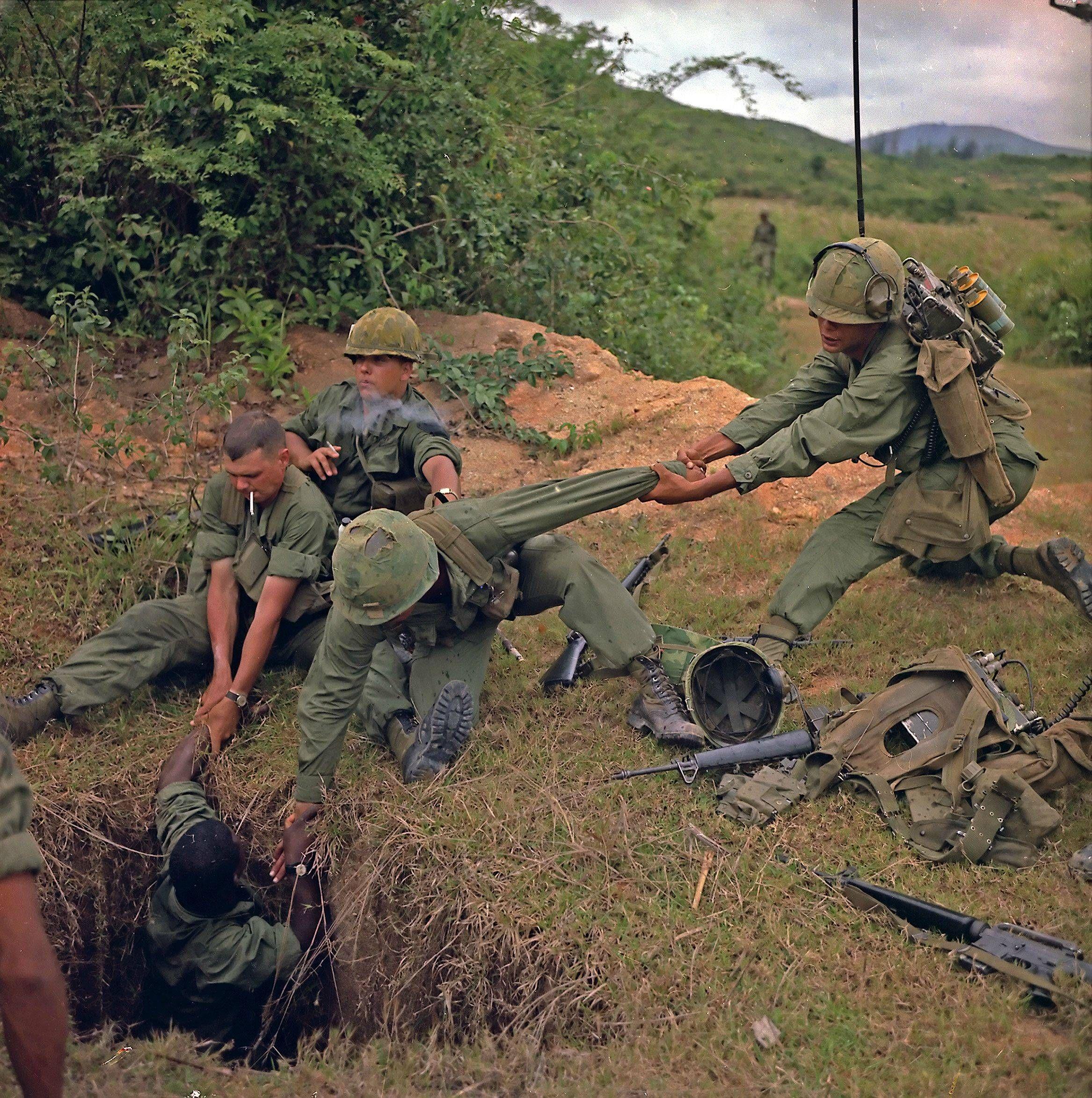 Vietnam War Cu Chi Tunnels Unknown Date X