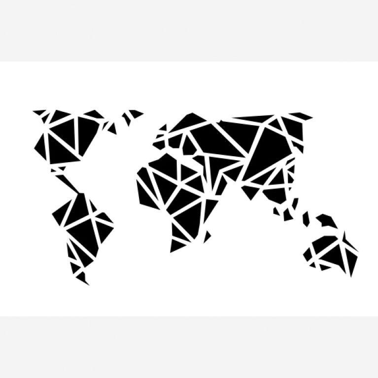 Pin von matze breex auf art - Geometrische wandbilder ...