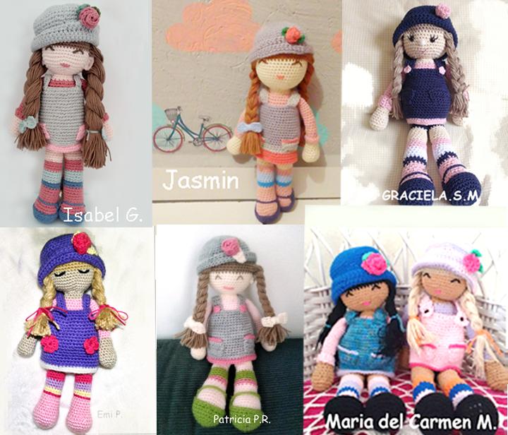 Versiones de la muñeca Anni   panenka   Pinterest   Las muñecas ...