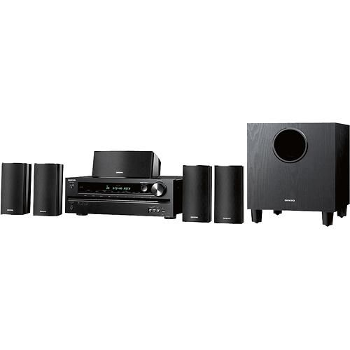 Onkyo Channel Home Theater Speaker System With Subwoofer And - Small home theater receiver