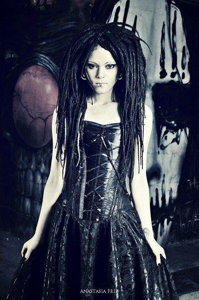 Daria Stavrovich The Slot Goth Hair Goth Hair Goth