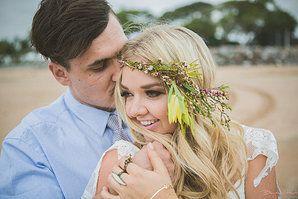 beach vintage wedding gallery - benjamin hurt photography