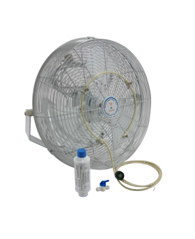 Misting Fan With Our Fan Mist Kit For Instant Outdoor Cooling