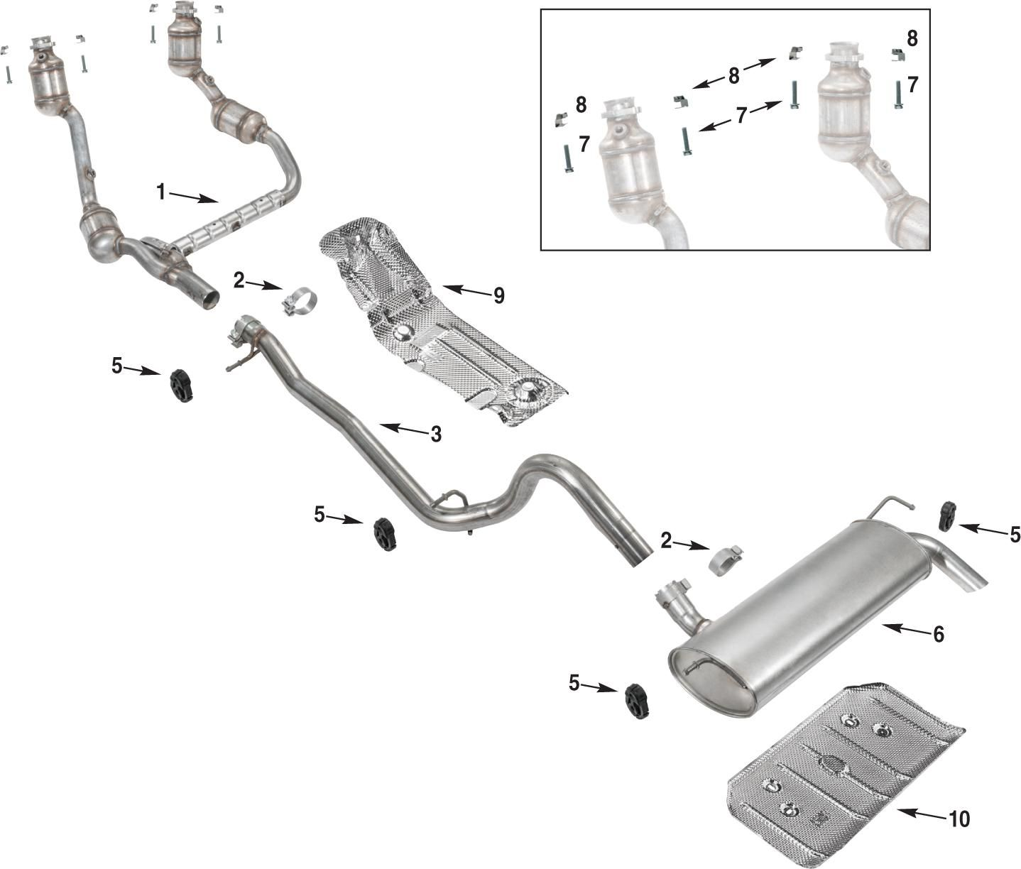 Wrangler Jk Exhaust Parts 07 11 Jpg 1438 1224 Wrangler Jk Jeep Electronic Products