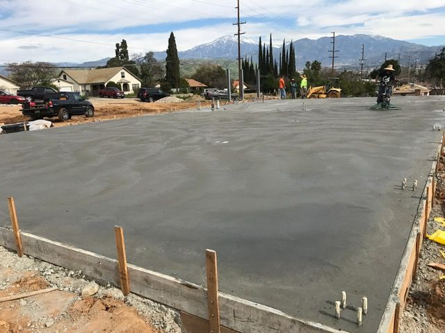 Dkc Architects Office Concrete Slab Poured Today Building Will Begin To Be Erected On February 27th Architect Outdoor Architects Office