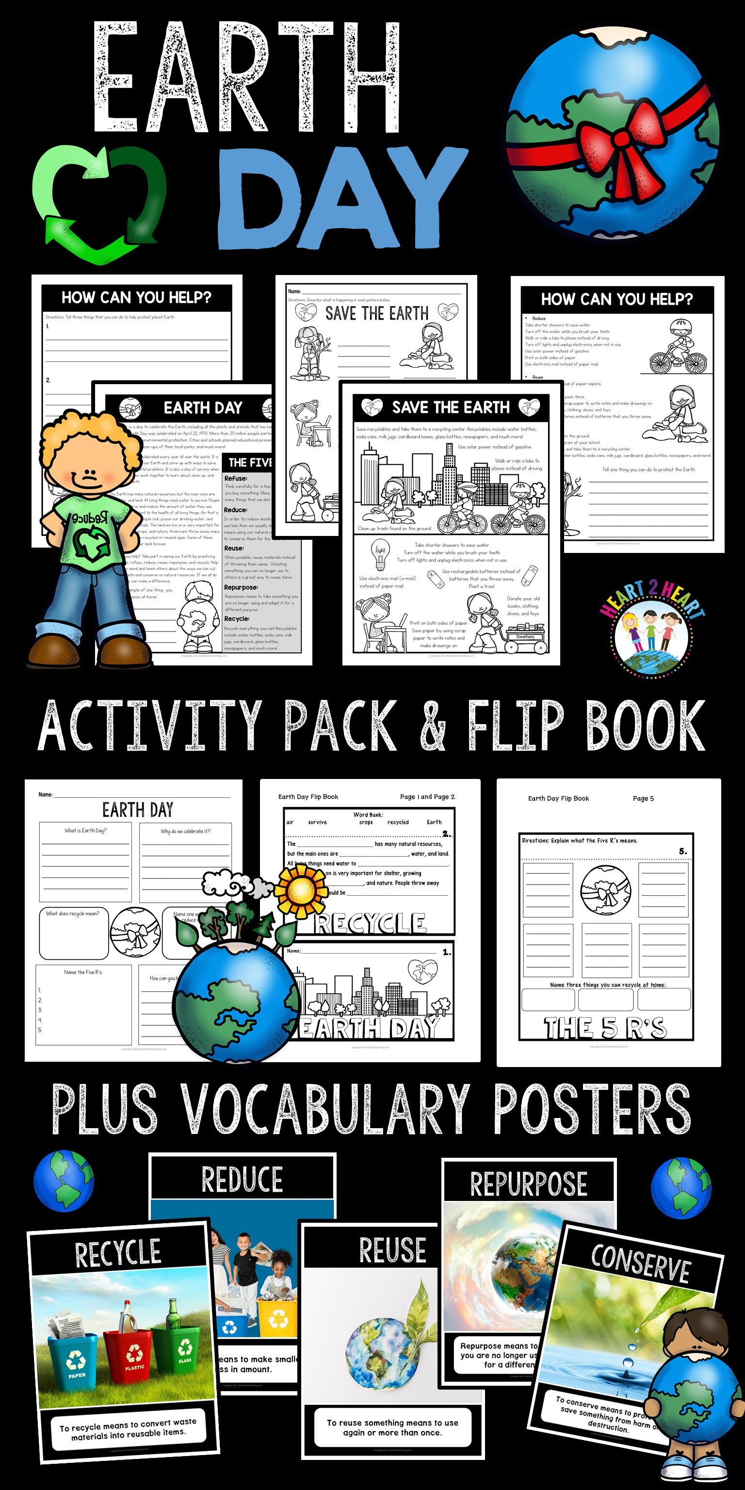 Save Our Earth Earth Day Activity Pack En