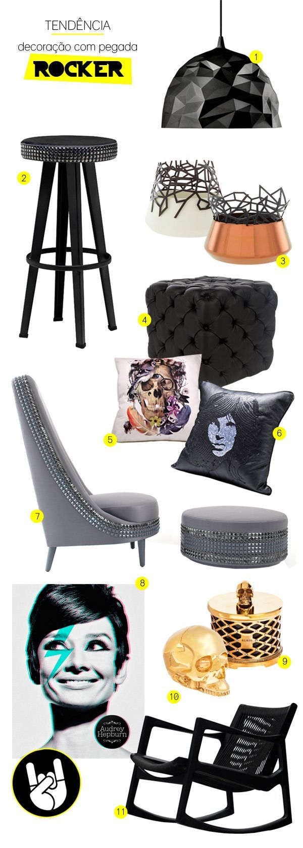 rock n roll furniture and decor #decor #rocknroll  decor diy . en