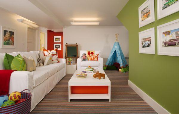 Wie Sie ein kinderfreundliches Wohnzimmer einrichten | Playrooms