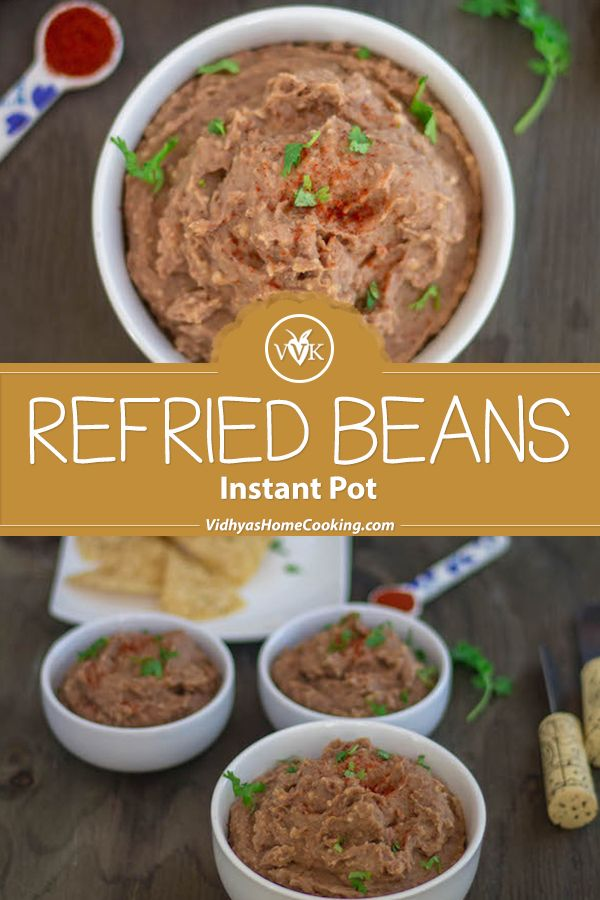A Rich And Creamy Homemade Refried Beans From Scratch In