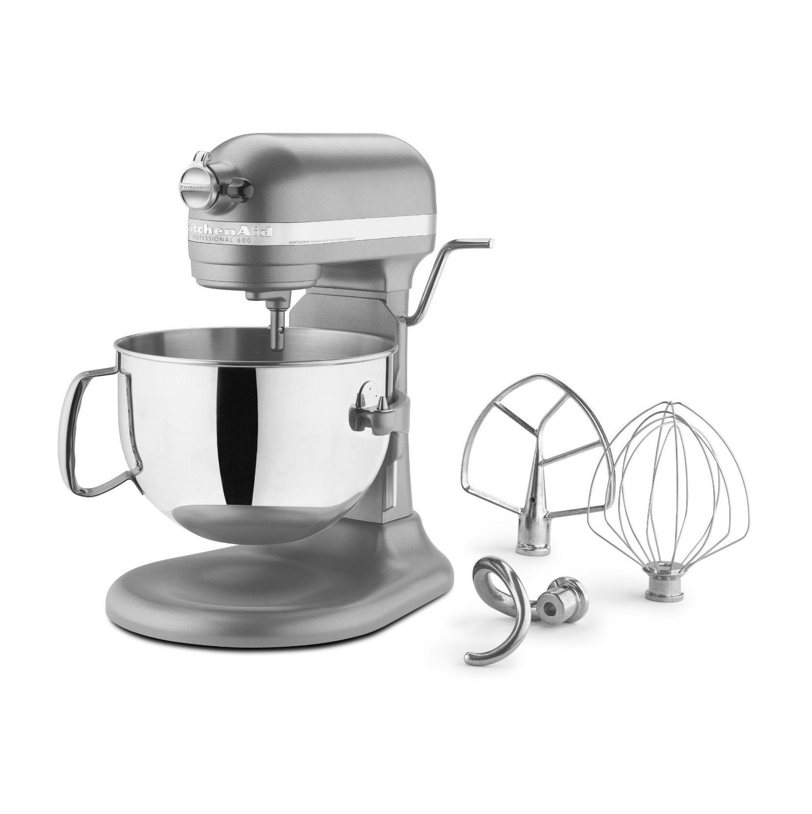 Kitchenaid 600 series professional stand mixer mixers on