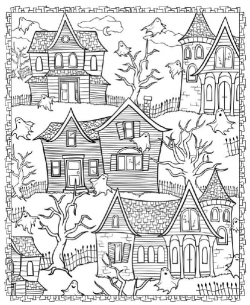 coloriages d 39 halloween dix mois all things halloween. Black Bedroom Furniture Sets. Home Design Ideas