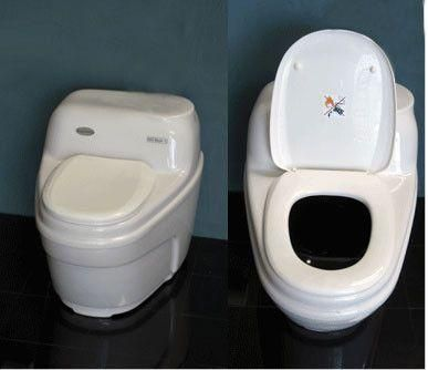 Ecojohn Basic Compost Toilet Airstream Custom Build