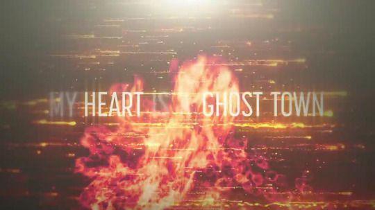 lyrics from: ghost town - adam lambert
