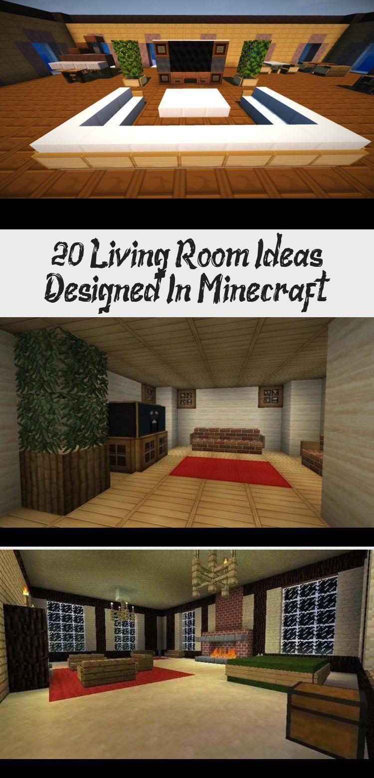 20 Living Room Ideas Designed In Minecraft Roomideasdesk Bigroomideas Roomideashipster Craftroomideas Ro Beautiful Living Rooms Perfect Living Room Design