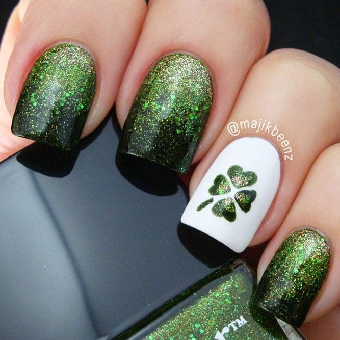 Super Fun St Patricks Day Nail Art Ideas See More Http