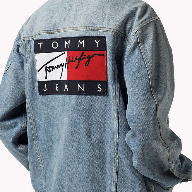 Tommy Hilfiger Denim Jacket mid stone wash (Blue
