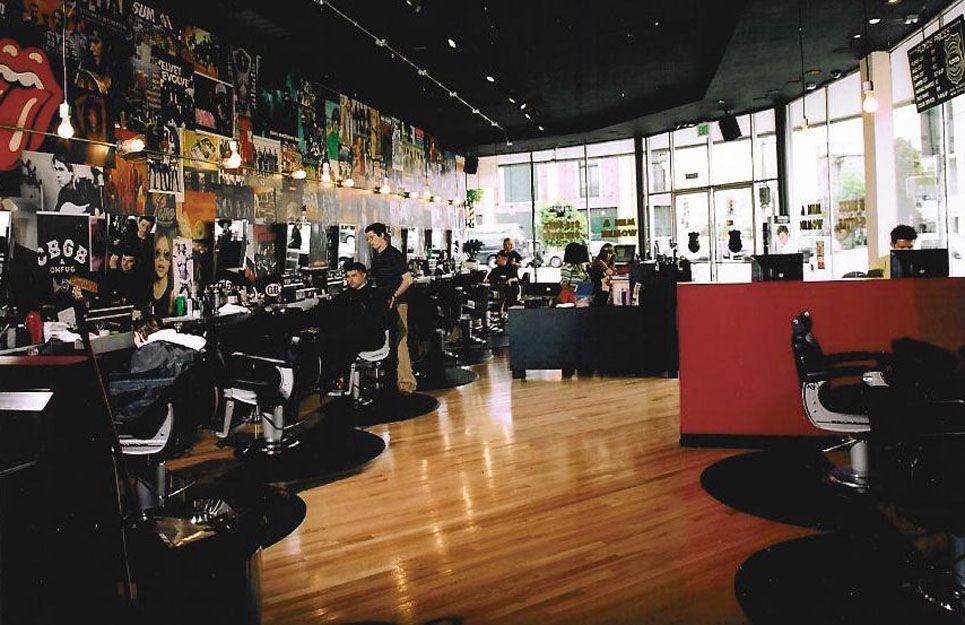 Kollin Altomare Architects Floyd S Barbershop Barber Shop Barbershop Design Shoulder Massage