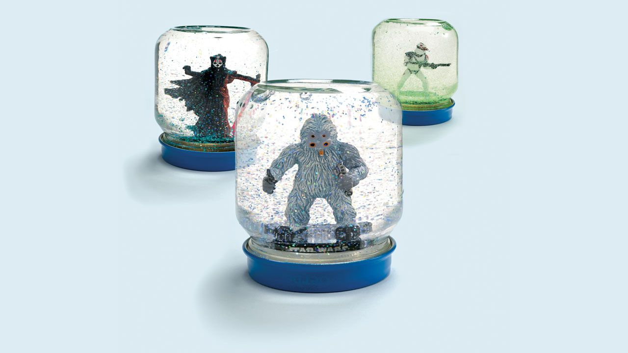 Star Wars Küche Make Your Own Star Wars Snow Globe This Technique Would Work For
