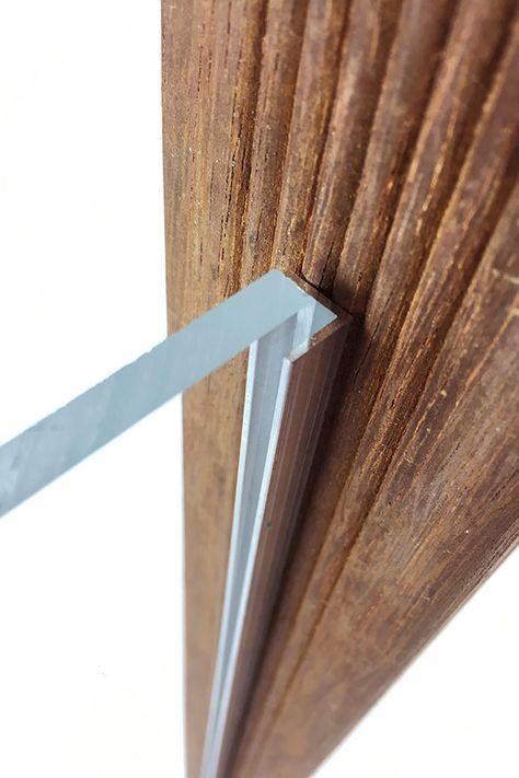 Windschutz mit Acrylglas selber bauen Windschutz