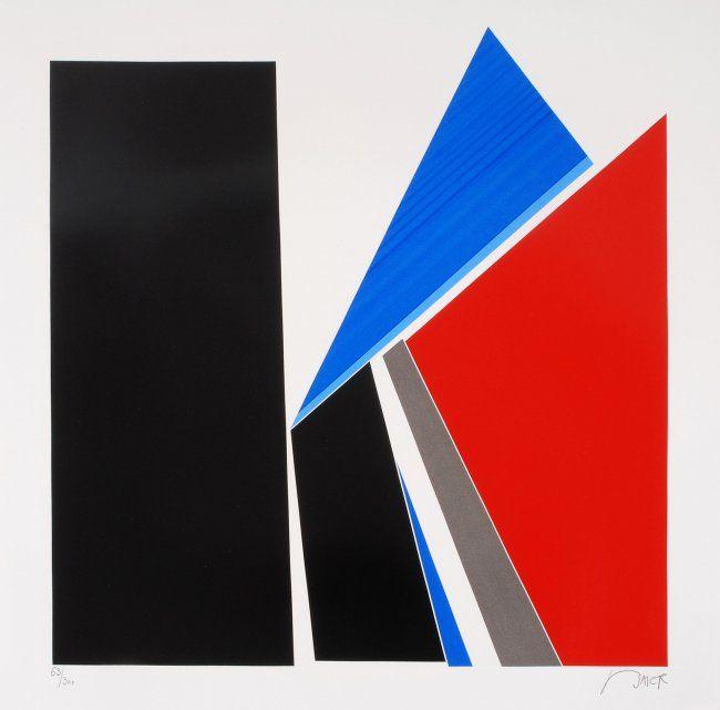 BAIER, Jean (Genf 1932–1999 Genf) Ohne Titel. 1971. : Lot 4100