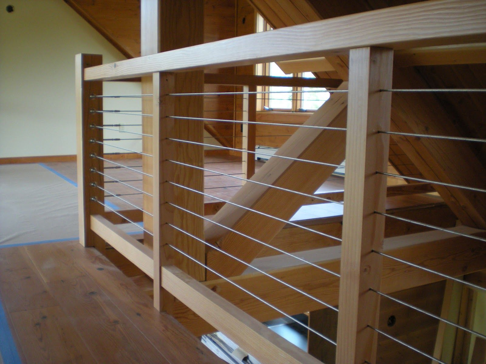 Best Cable Railing Cable Stair Railing Stair Railing Wood 400 x 300