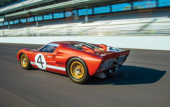 A J Fairbairn Mashes The  Ford Gt Mark Iis Throttle Unleashing The Brapp Of Its
