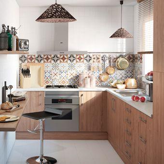 Renueva tu cocina leroy merlin cocinas pinterest - Cocina rustica pequena ...