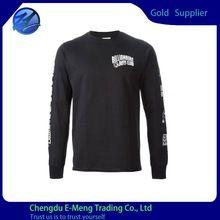 Custom Made Black Long Sleeves Printed Brand Man  best seller follow this link http://shopingayo.space