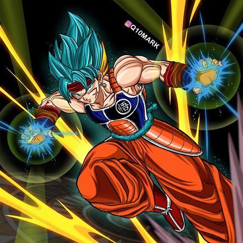 Godock Ssjb With Images Dragon Ball Dragon Ball Goku Anime