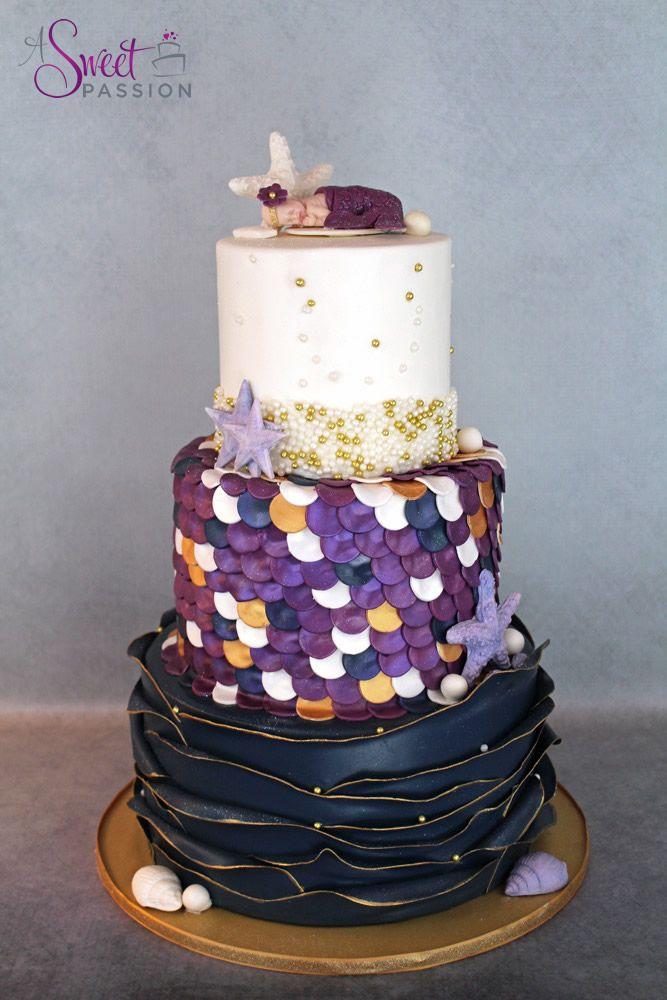 mermaid baby shower cake a sweet passion cake pinterest